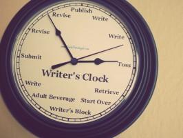 Writing Clock